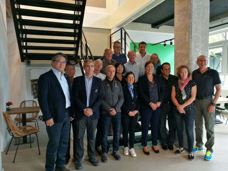 The International Triathlon Union Executive Board met in Rotterdam ©ITU