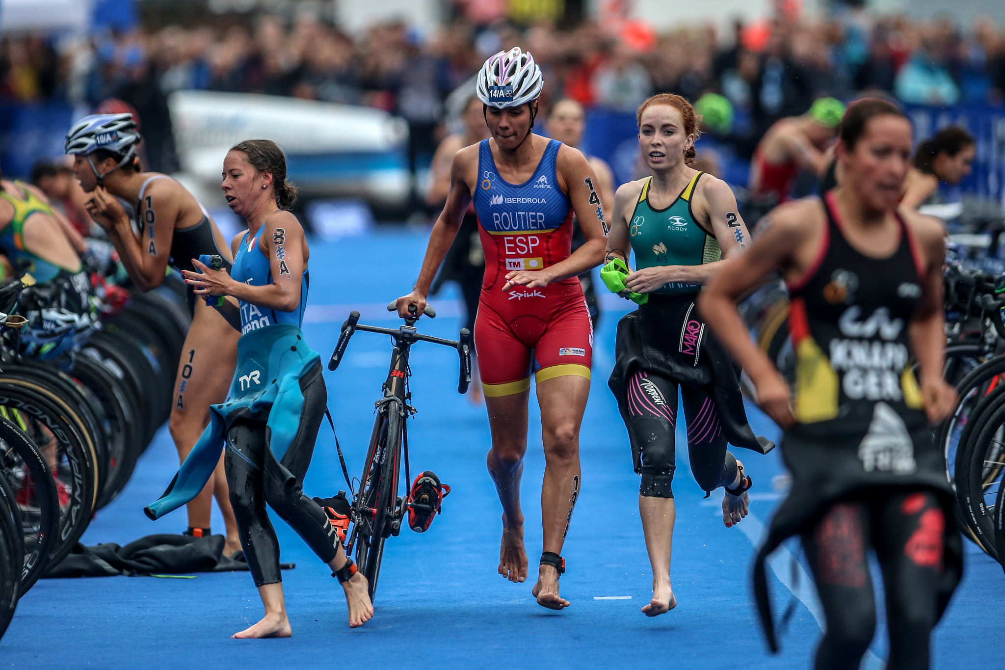 Mixed relay triathlon will debut on the Olympic stage at Tokyo 2020 ©Getty Images