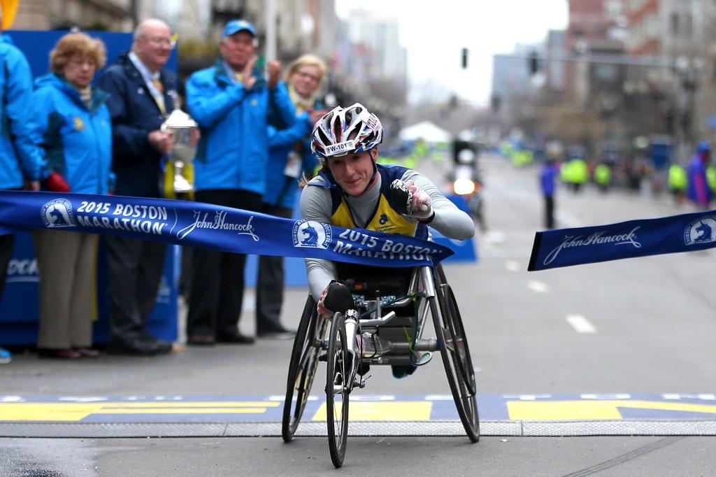 The new wheelchair is set to be used by three-times Paralympic champion Tatyana McFadden
