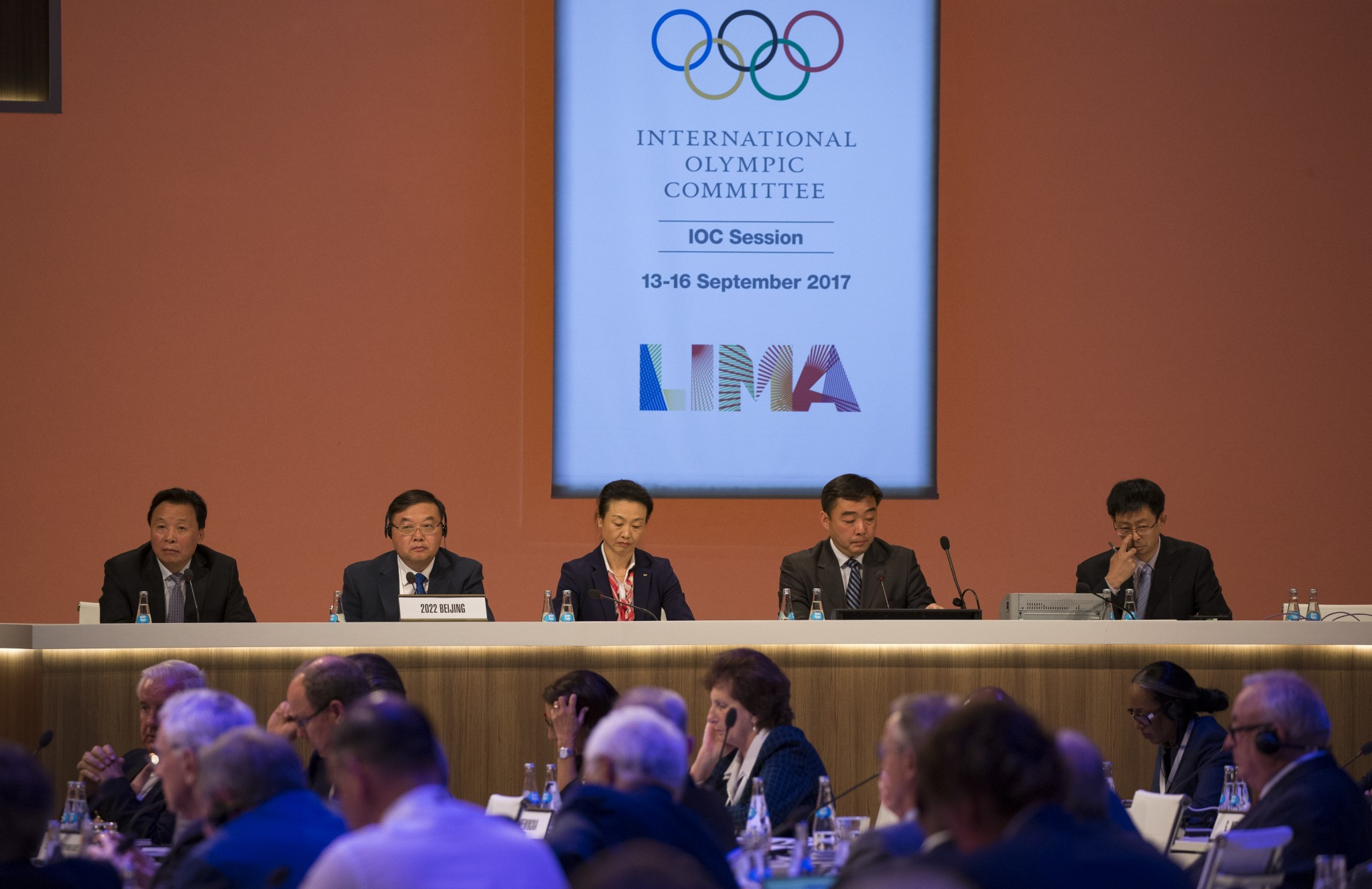 Beijing 2022 were praised for the strong start they have made to their preparations so far ©IOC