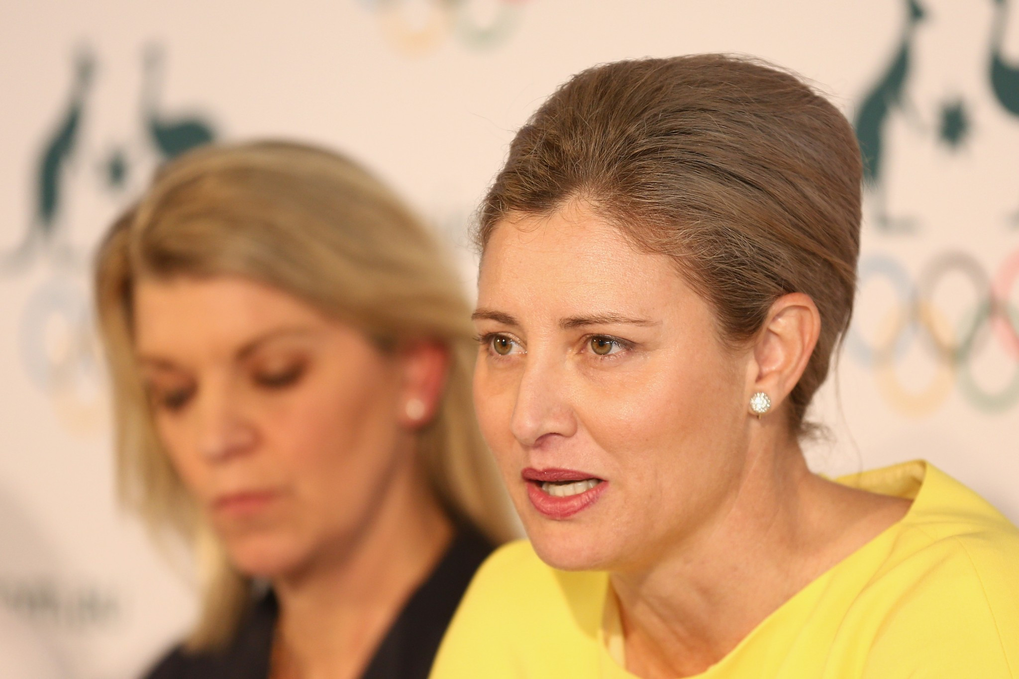 Australian Olympic Committee media director Mike Tancred had been given a severe reprimand after threatening to