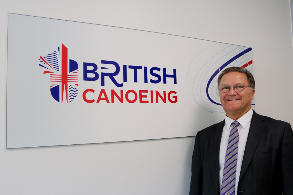 Peter King has been appointed as the interim chief executive of British Canoeing ©British Canoeing