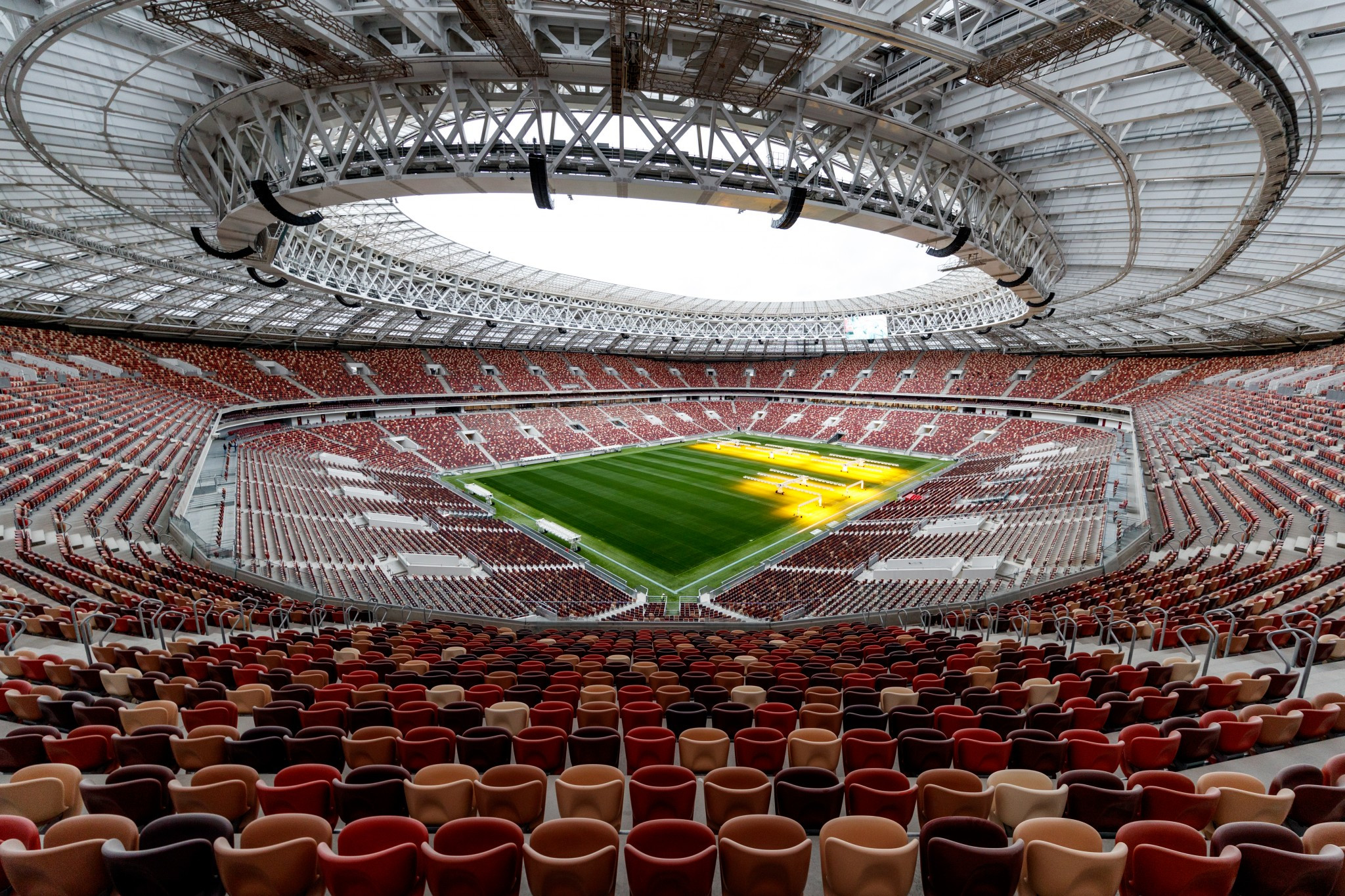 The Luzhniki Stadium will host the 2018 FIFA World Cup final ©Getty Images