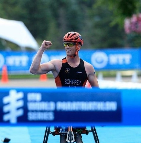 Paralympic silver medallist targets home success at World Para-triathlon Championships in Rotterdam