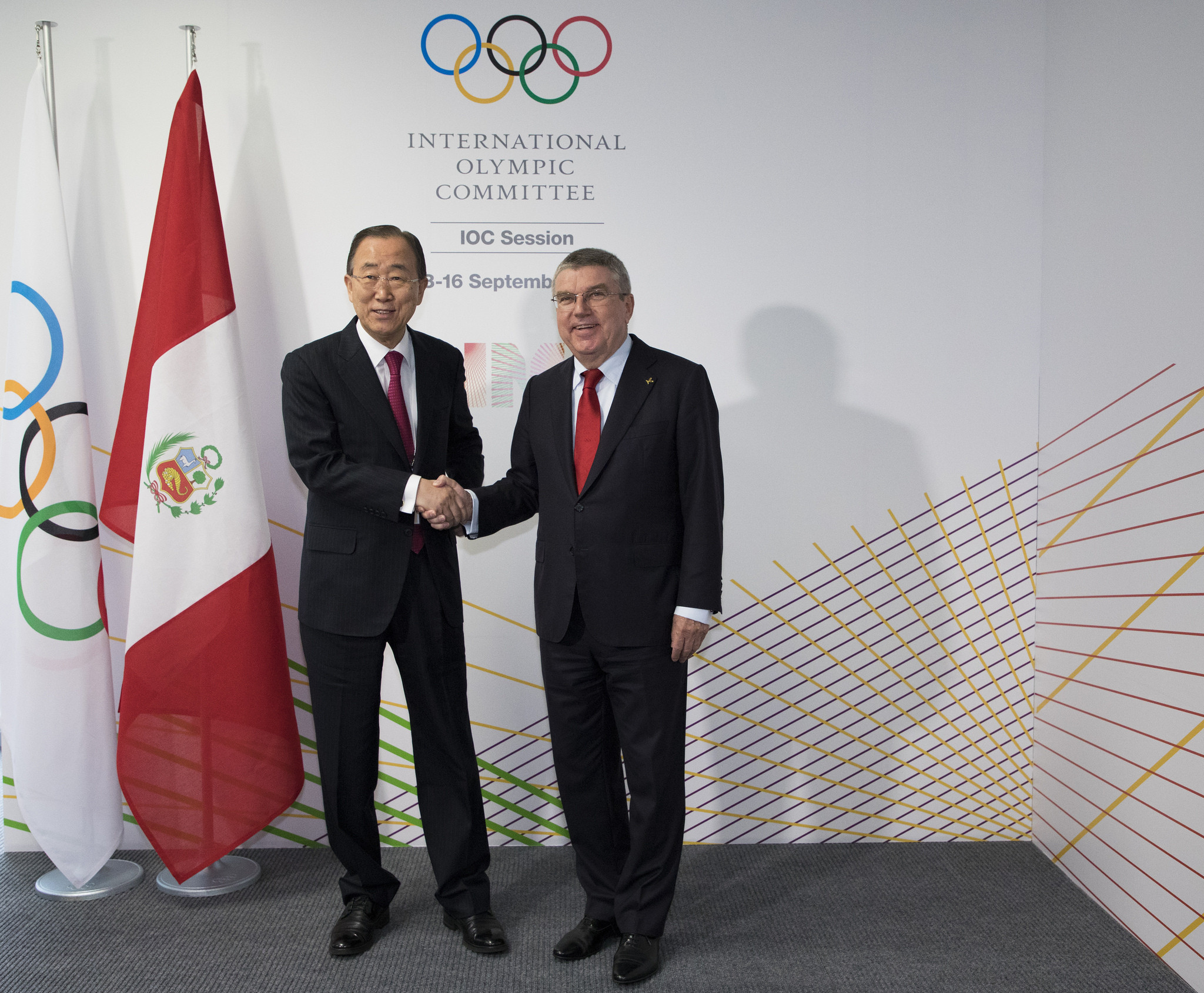 Ban Ki-moon was elected chairman of the IOC Ethics Commission today ©IOC