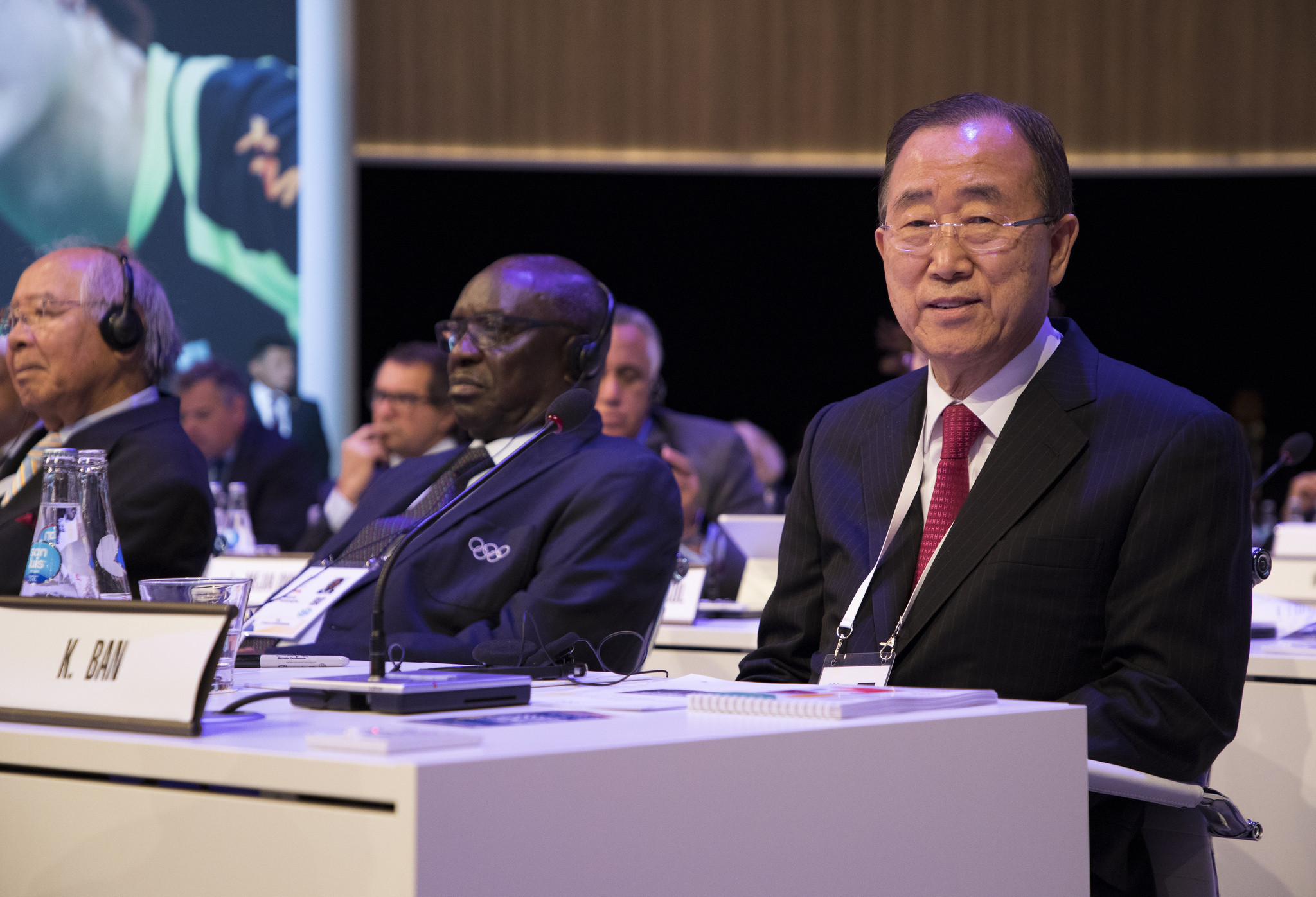 Ban Ki-moon vowed to enhance the accountability and transparency of the IOC following his election ©IOC
