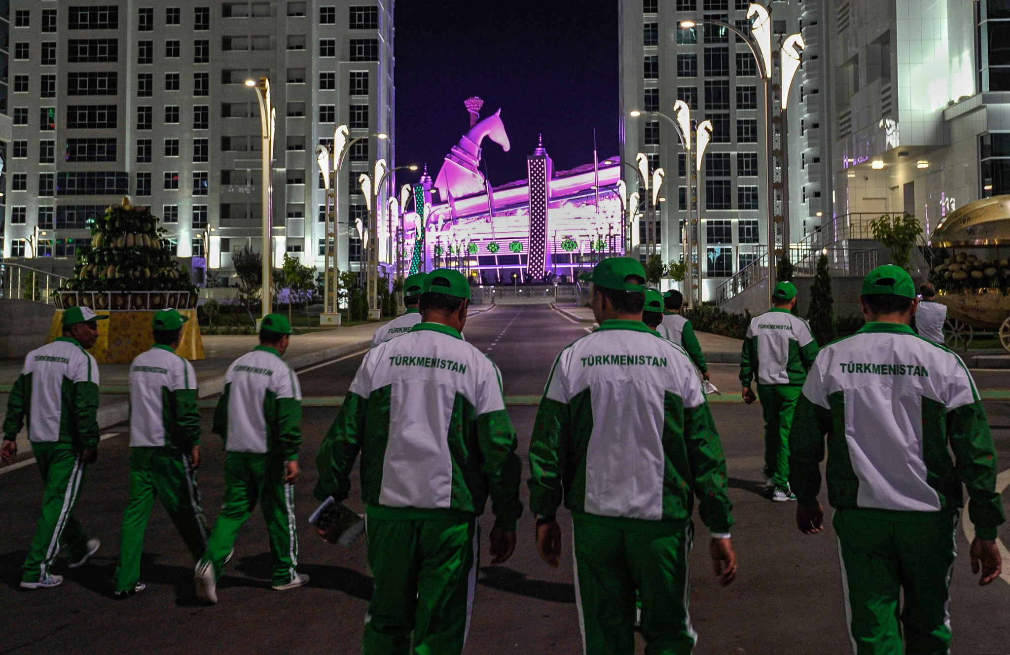 Ashgabat is hosting the fifth edition of the Asian Indoor and Martial Arts Games ©Getty Images