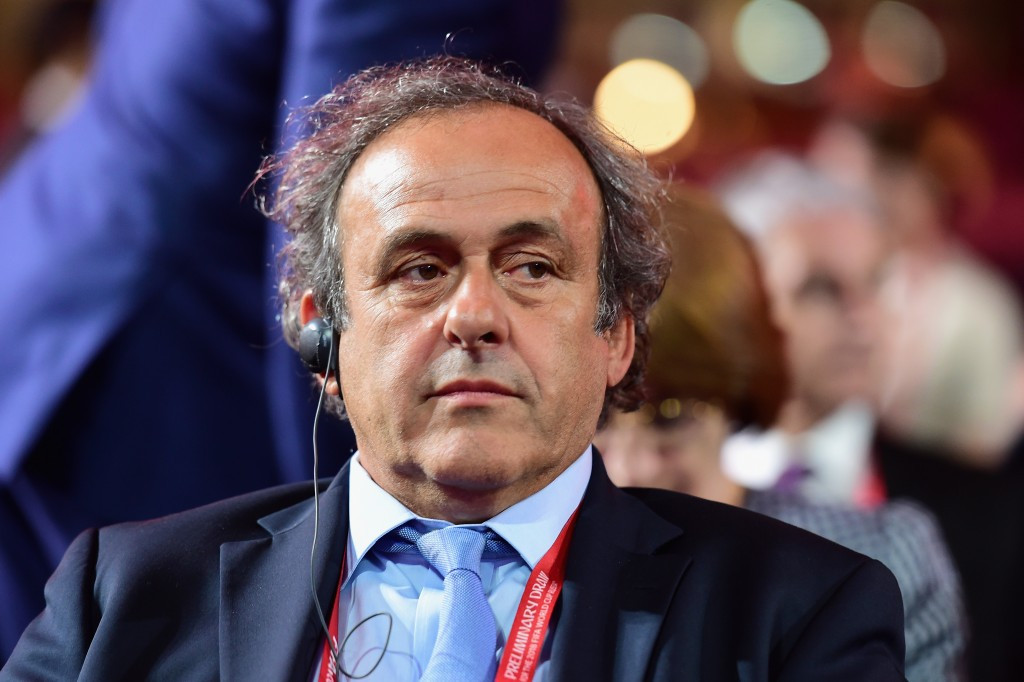 UEFA President and rival for FIFA Presidency Michel Platini was also the subject of Chung's attacks