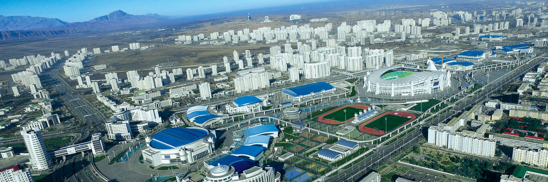 The Ashgabat Olympic Complex will stage the 2017 Asian Indoor and Martial Arts Games ©Ashgabat 2017