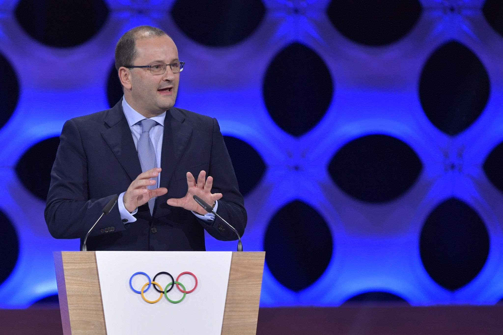 Lausanne 2020 President Patrick Baumann claimed the changes to the format of the Winter Youth Olympic Games would not have an adverse impact on their budget or construction deadlines ©Getty Images