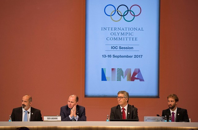 Lausanne 2020 presented their vision and plans for the Winter Youth Olympics to the IOC Session ©IOC