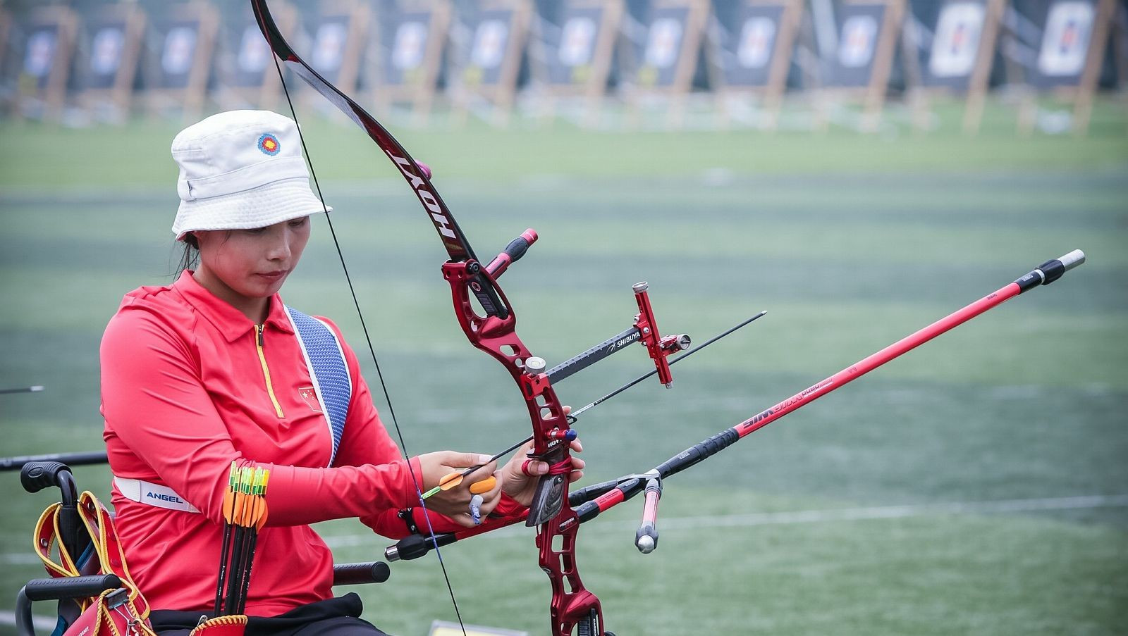 Defending champion Wu forced to settle for bronze at World Archery Para Championships
