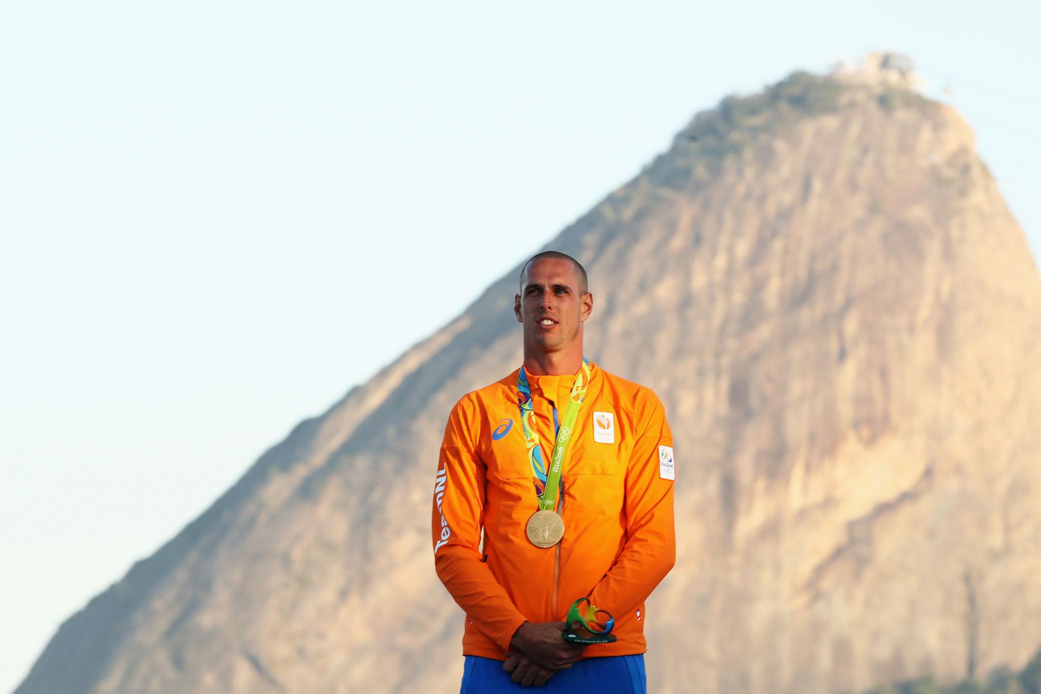 Double Olympic windsurfing champion van Rijsselberge seeks to reclaim world title in Japan