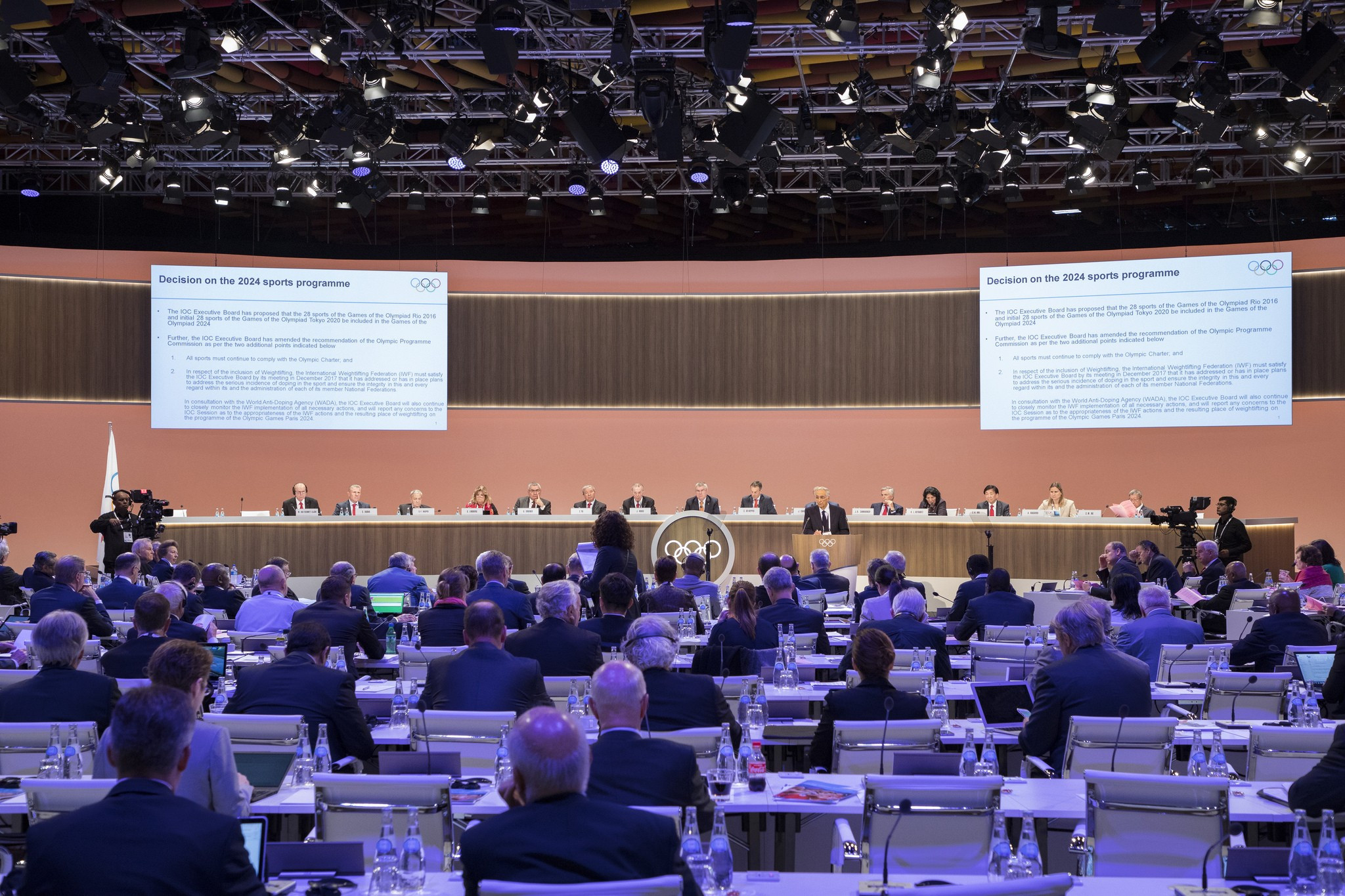 A number of IOC members openly criticised the statement from the NADOs ©IOC