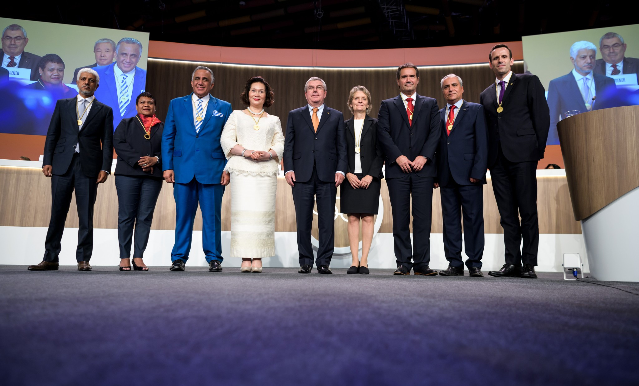 Eight IOC members elected on final day of 131st Session in Lima