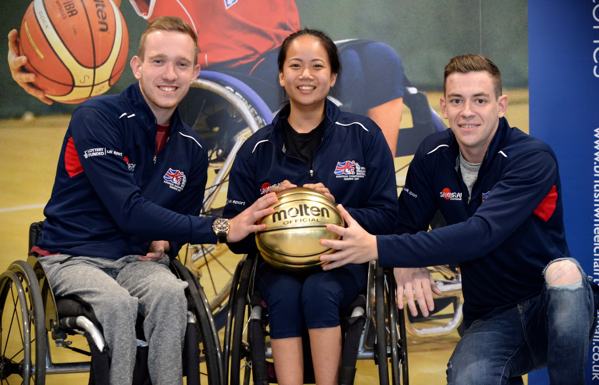 British Wheelchair Basketball and Unicorn Products Ltd have signed a four-year deal confirming Molten as the official ball of the sport in the United Kingdom for the Tokyo 2020 Paralympic cycle ©British Wheelchair Basketball