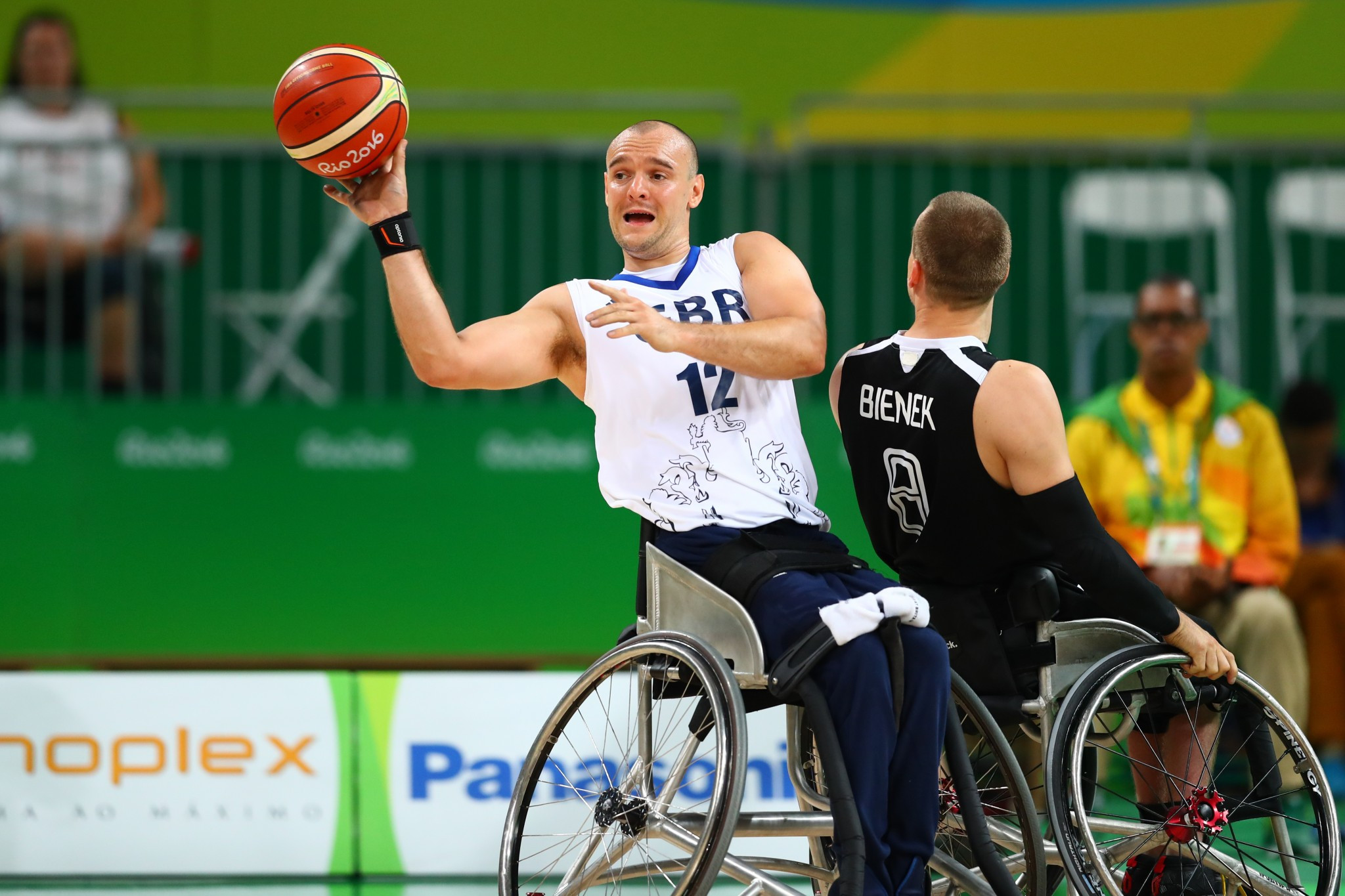 Great Britain won the bronze medal in the men's wheelchair basketball competition at the Rio 2016 Paralympic Games ©Getty Images