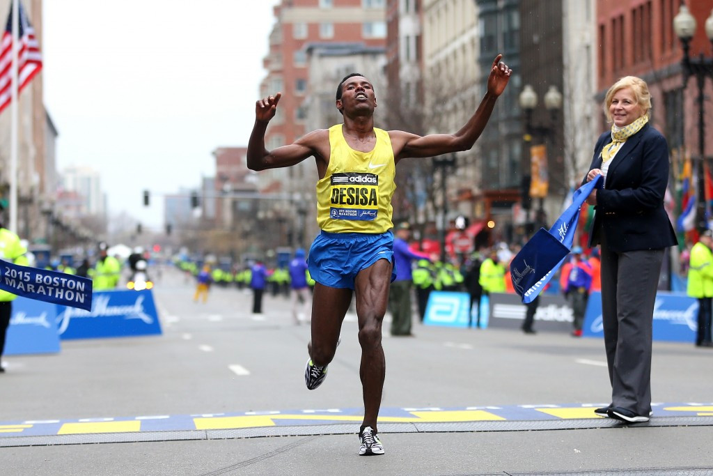 Desisa wins second Boston Marathon title as defending champion Keflezighi finishes eighth