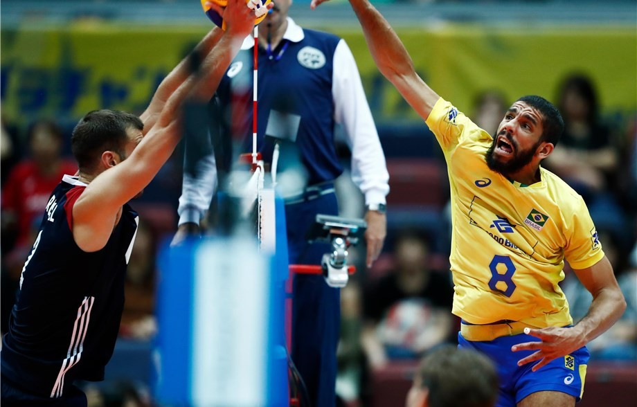 Brazil make it back-to-back wins at FIVB World Grand Champions Cup