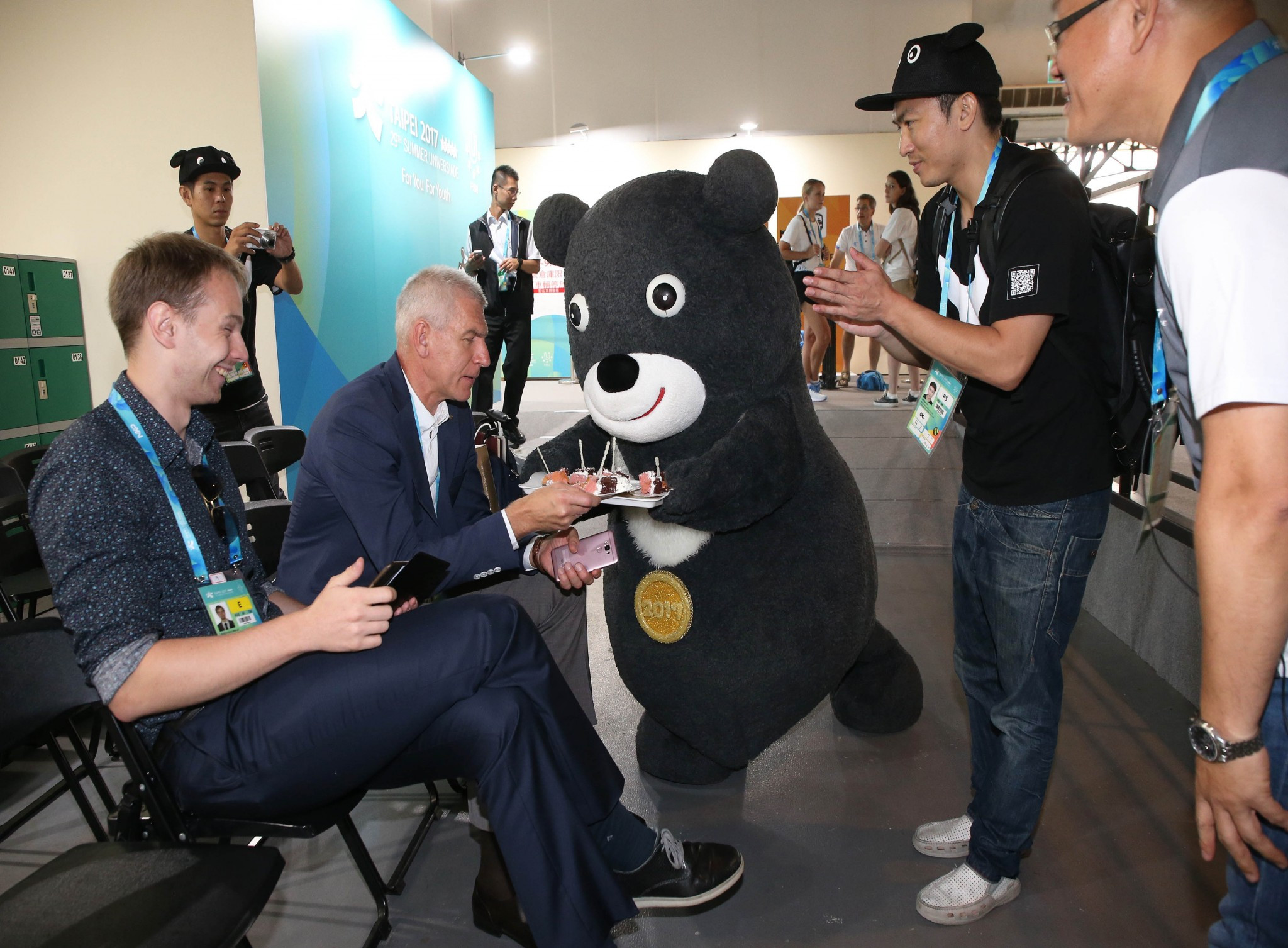 Bravo is based on the Formosan black bear ©Taipei 2017