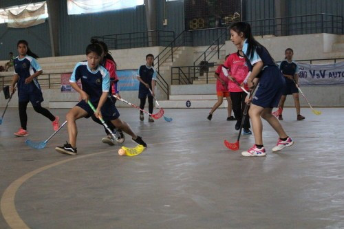 IFF takes floorball to Laos alongside Finnish development organisation