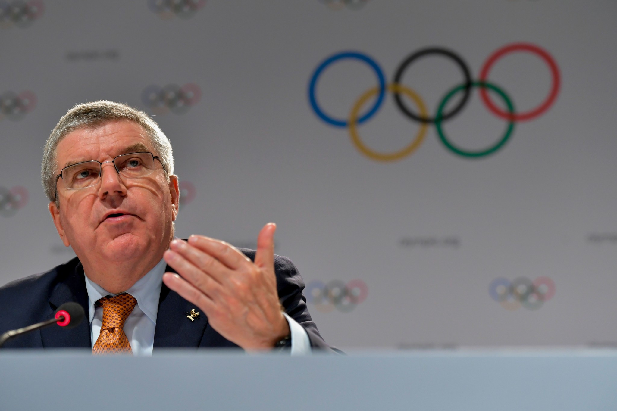 IOC President Thomas Bach admitted here this week that he had not watched Icarus ©Getty Images