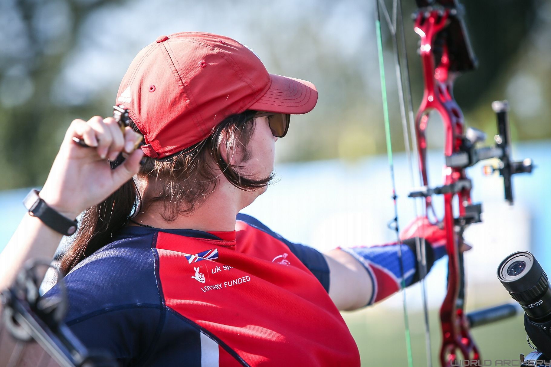 Jessica Stretton took gold in the women's W1 event ©World Archery