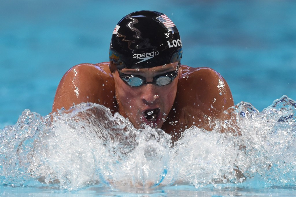 Lochte becomes second swimmer to win four successive World Championship titles with 200m gold
