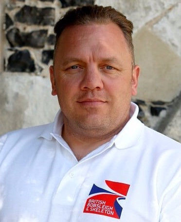 Lee Johnston has been named as the new head coach of British Bobsleigh ©BBSA