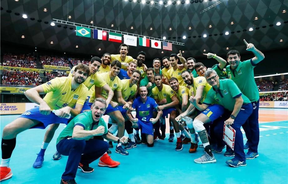 Brazil seal fourth successive FIVB World Grand Champions Cup crown