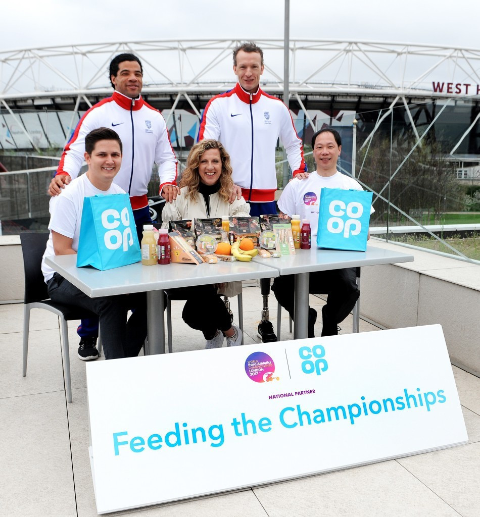 The Co-Op was a national partner of the London 2017 World Para Athletics Championships in London ©Mark Shearman