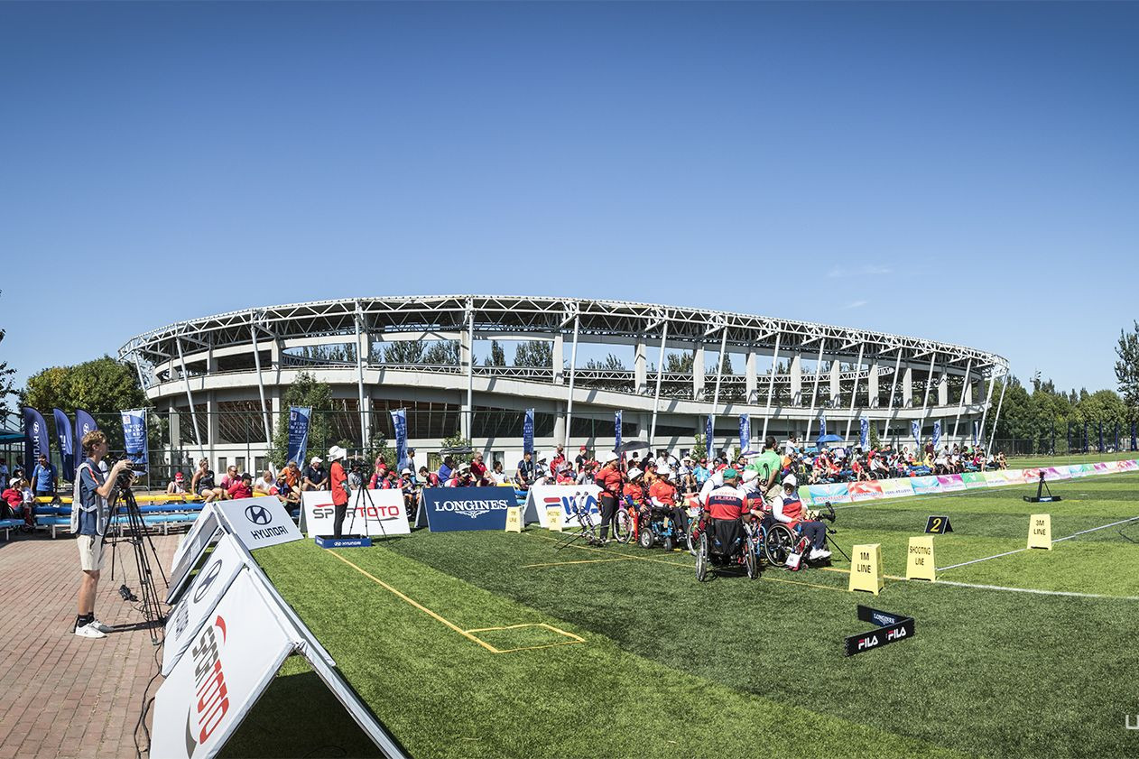 A host of compound team finals also took place today ©World Archery