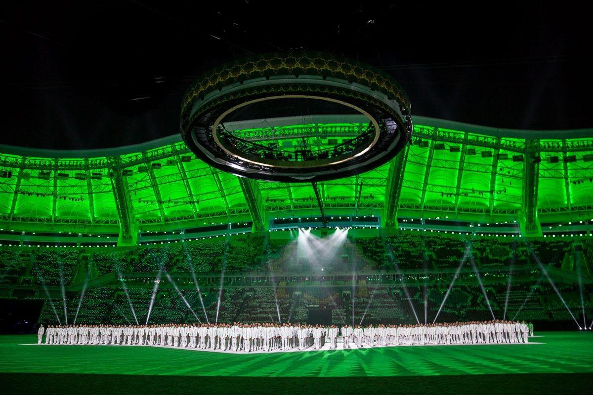 Turkmenistan culture celebrated at Opening Ceremony of Ashgabat 2017