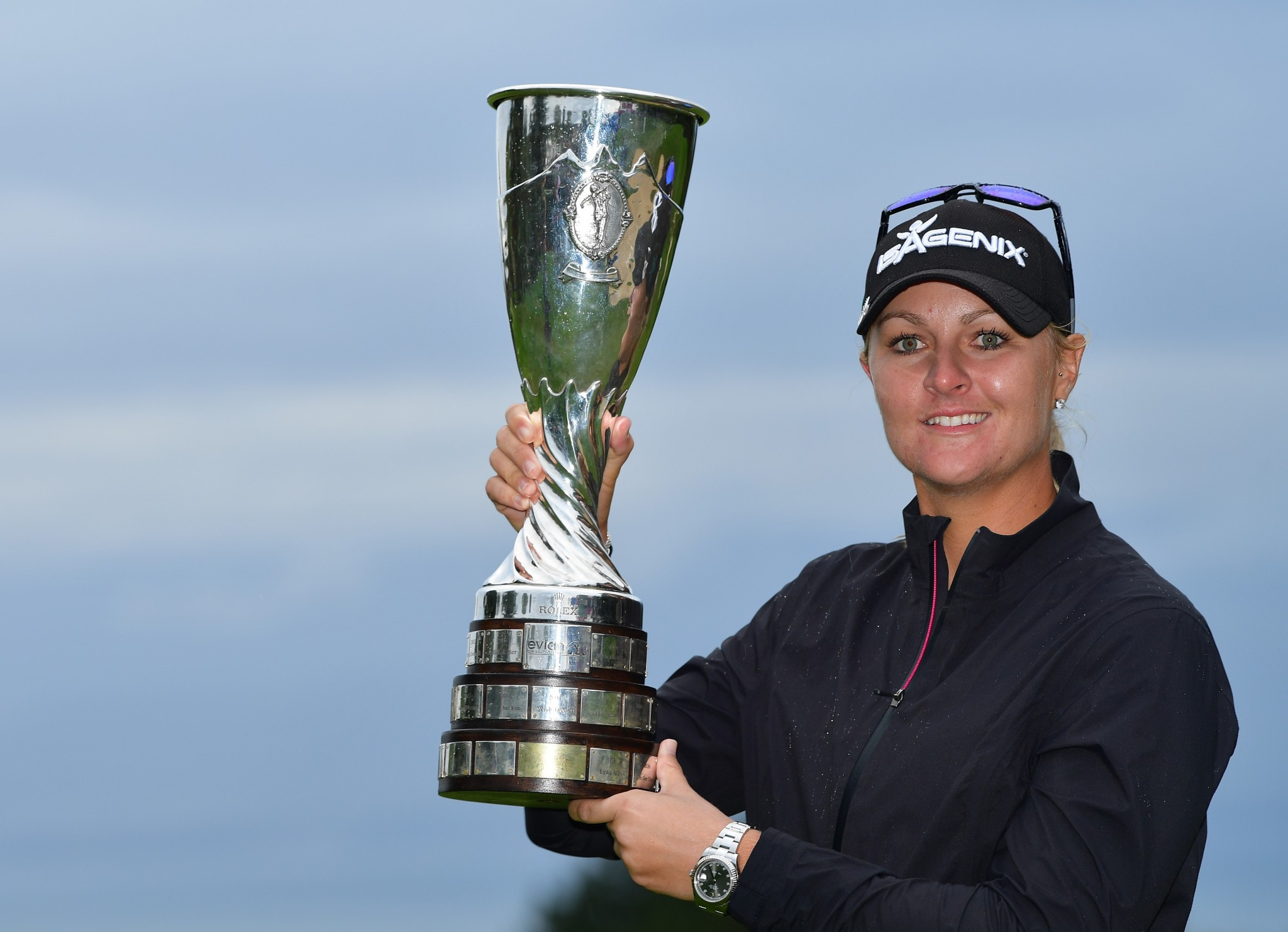 Nordqvist reigns in the rain after dramatic Evian Championship play-off