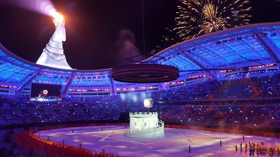 Ashgabat 2017 declared open in biggest event in Turkmenistan's history