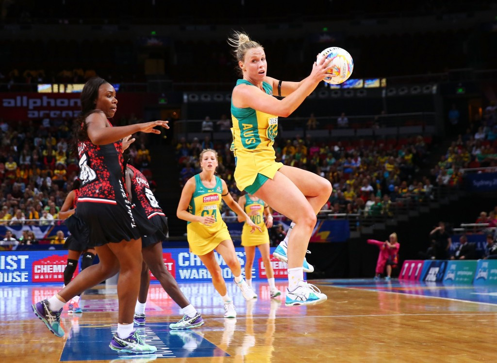 Hosts Australia enjoy perfect start to defence of Netball World Cup title after opening day victory
