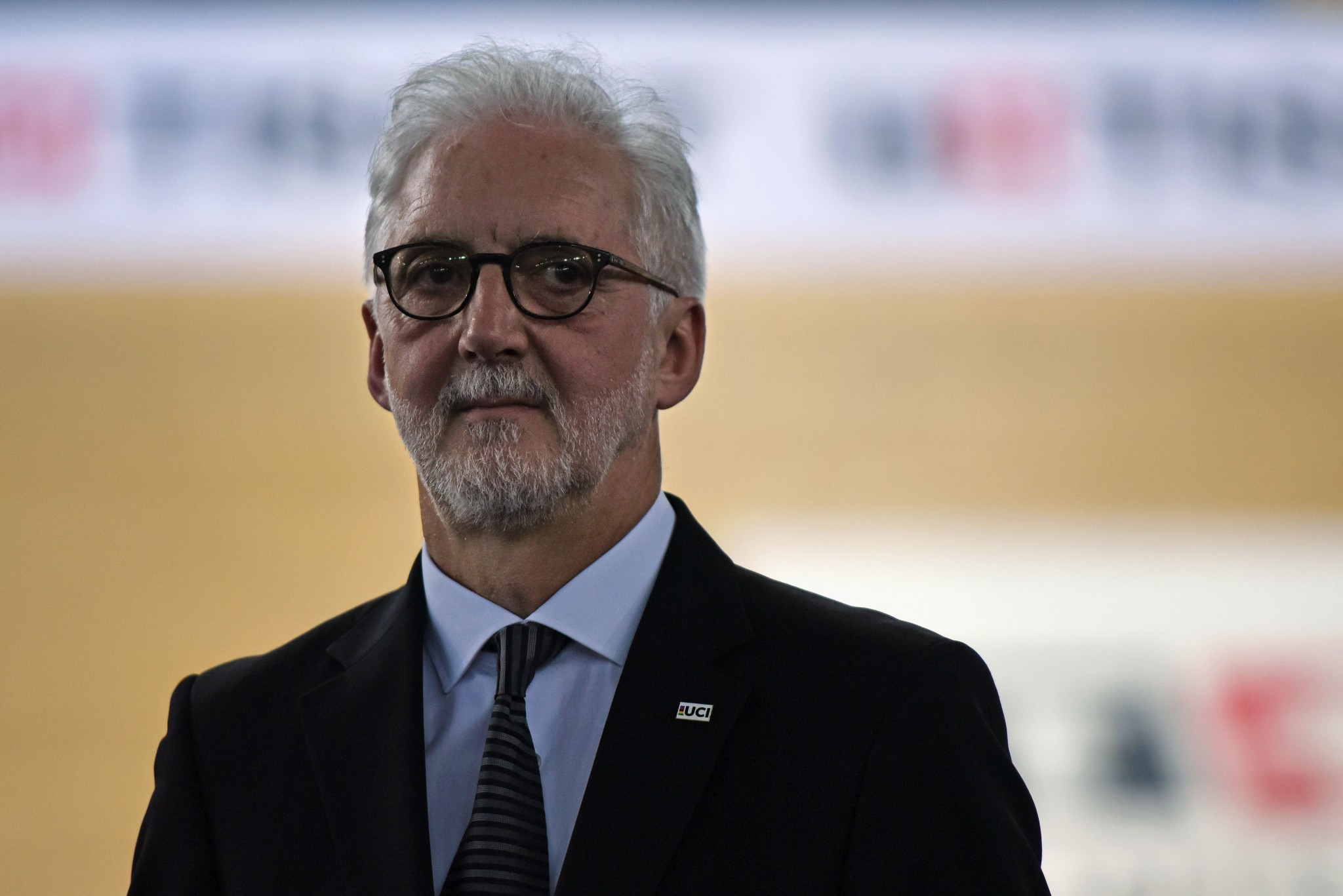 Brian Cookson has claimed he is surprised by David Lappartient's comments on corticosteroids and tramadol ©Getty Images