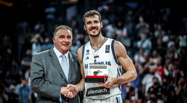 Dragic stars as Slovenia claim first EuroBasket title with epic 93-85 win over Serbia