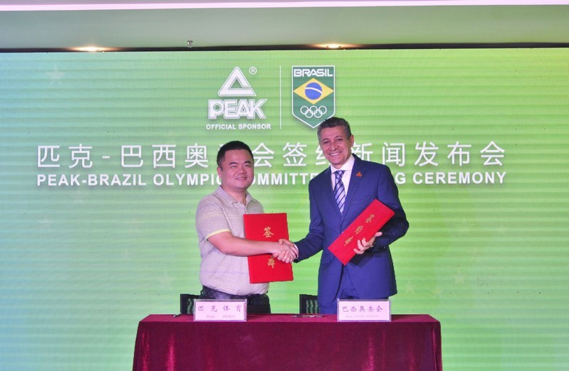 Brazilian Olympic Committee signs sportswear deal with Chinese company