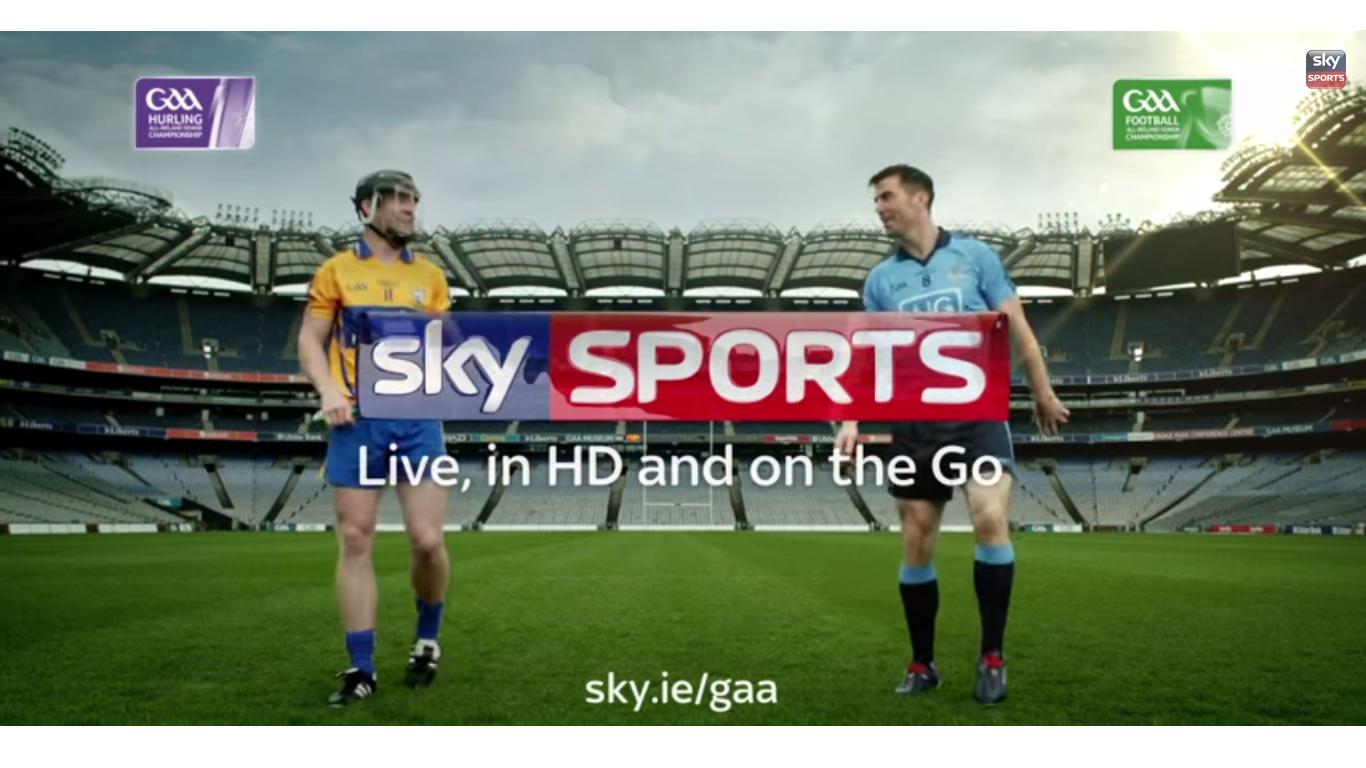 Sky Sports launches major investment in Gaelic sports in Ireland