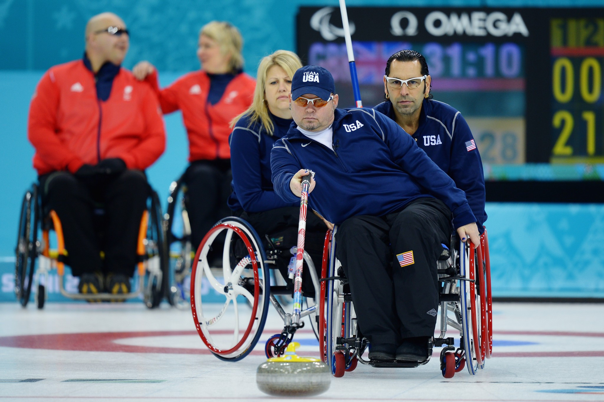 The number of teams at the World Wheelchair Curling Championship will now mirror the Paralympic Games ©Getty Images