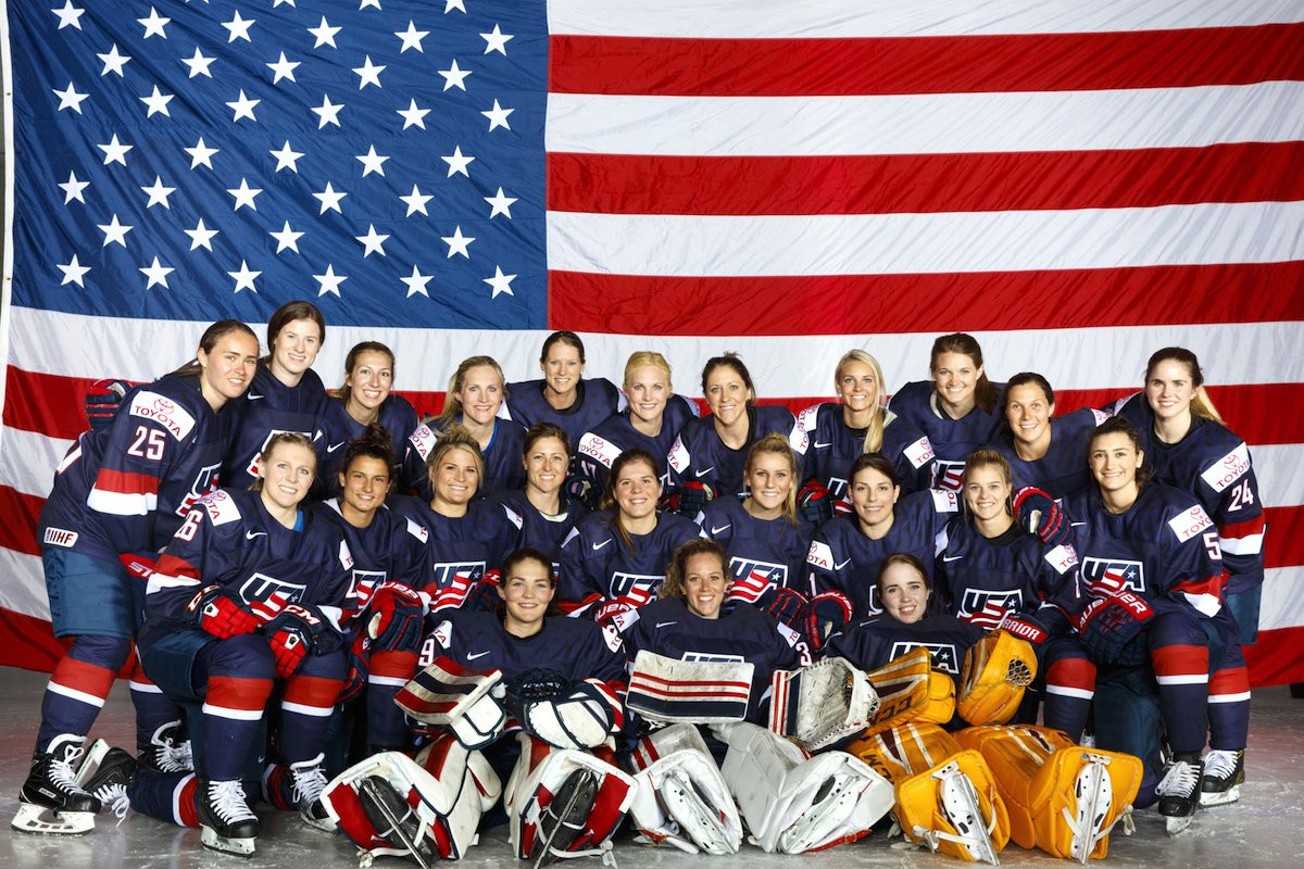 USA Hockey gathers women's team in Florida to launch Pyeongchang 2018 preparations