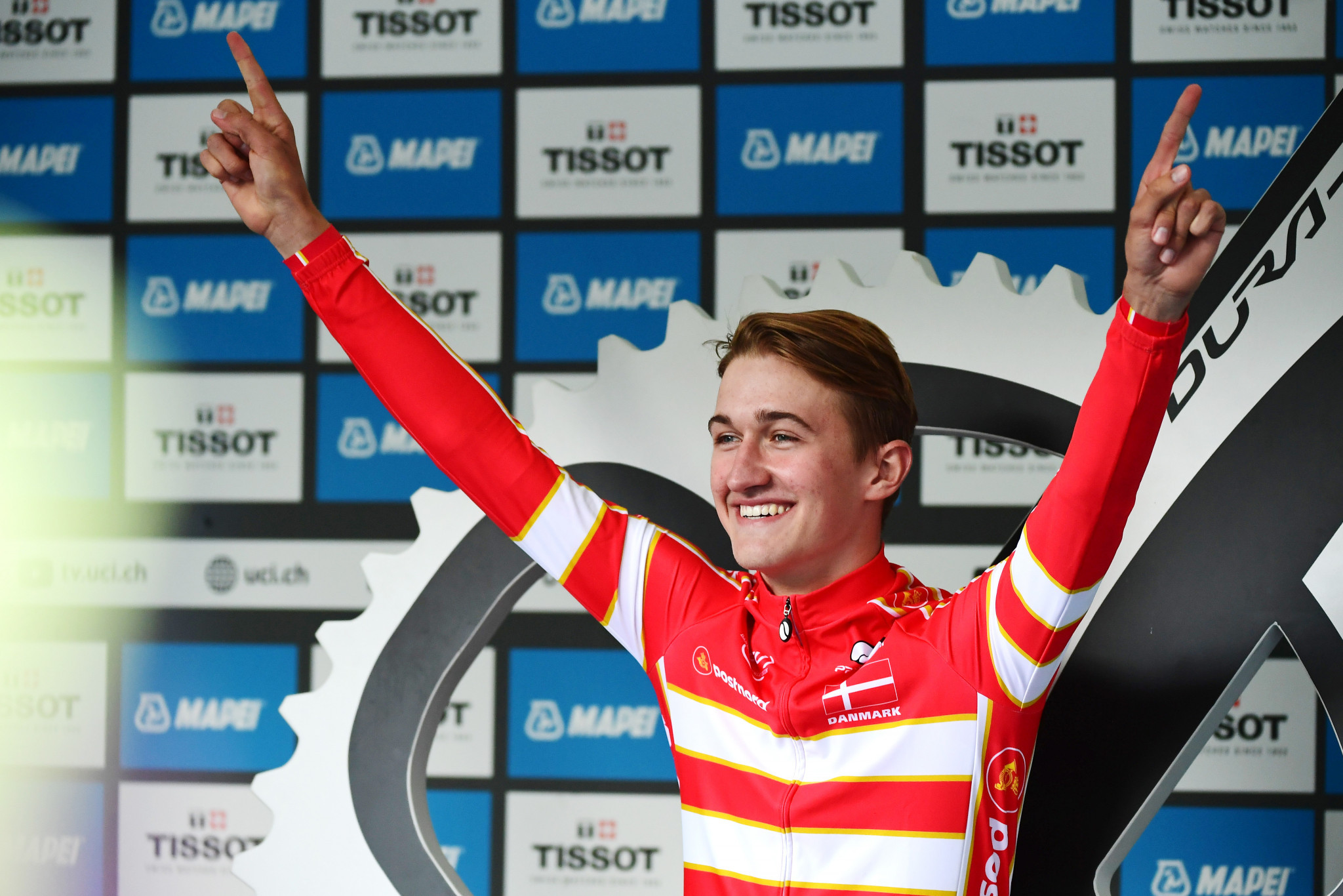 Bjerg dominates men's under-23 time trial at UCI World Road Championships in Bergen