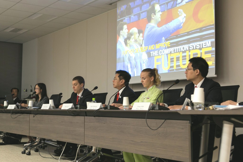 The International Wushu Federation were one of eight sports to stake their claim for a place at Tokyo 2020 today