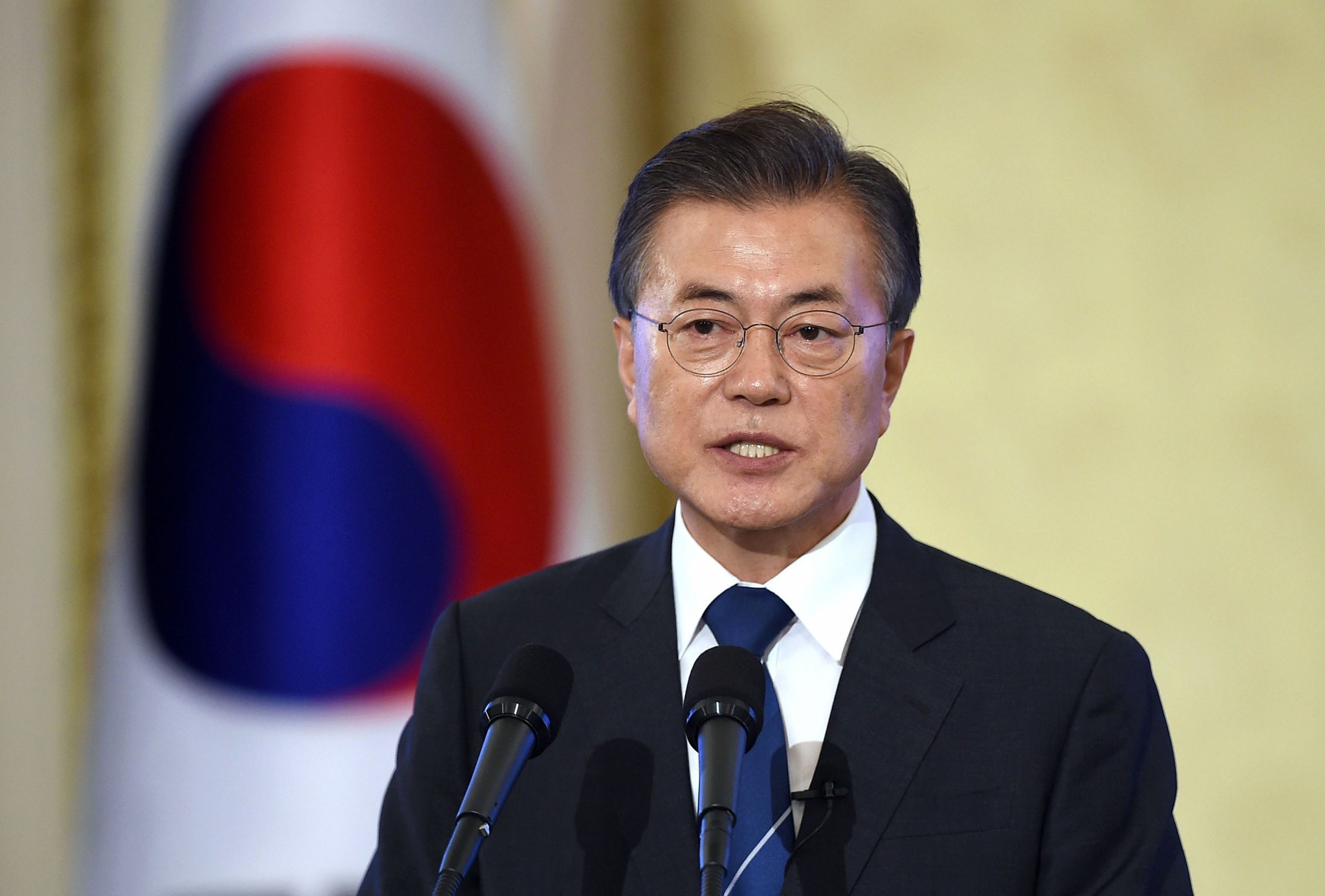South Korean President Moon Jae-in will use a trip to New York City to attend the United Nations General Assembly to promote Pyeongchang 2018 ©Getty Images