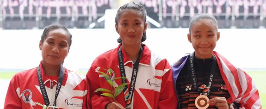 Indonesia claim nine golds on opening day of athletics at ASEAN Para Games