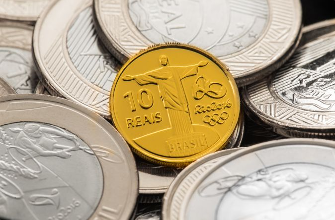Special gold and silver coins have been released, as well as ones for common circulation ©Rio 2016