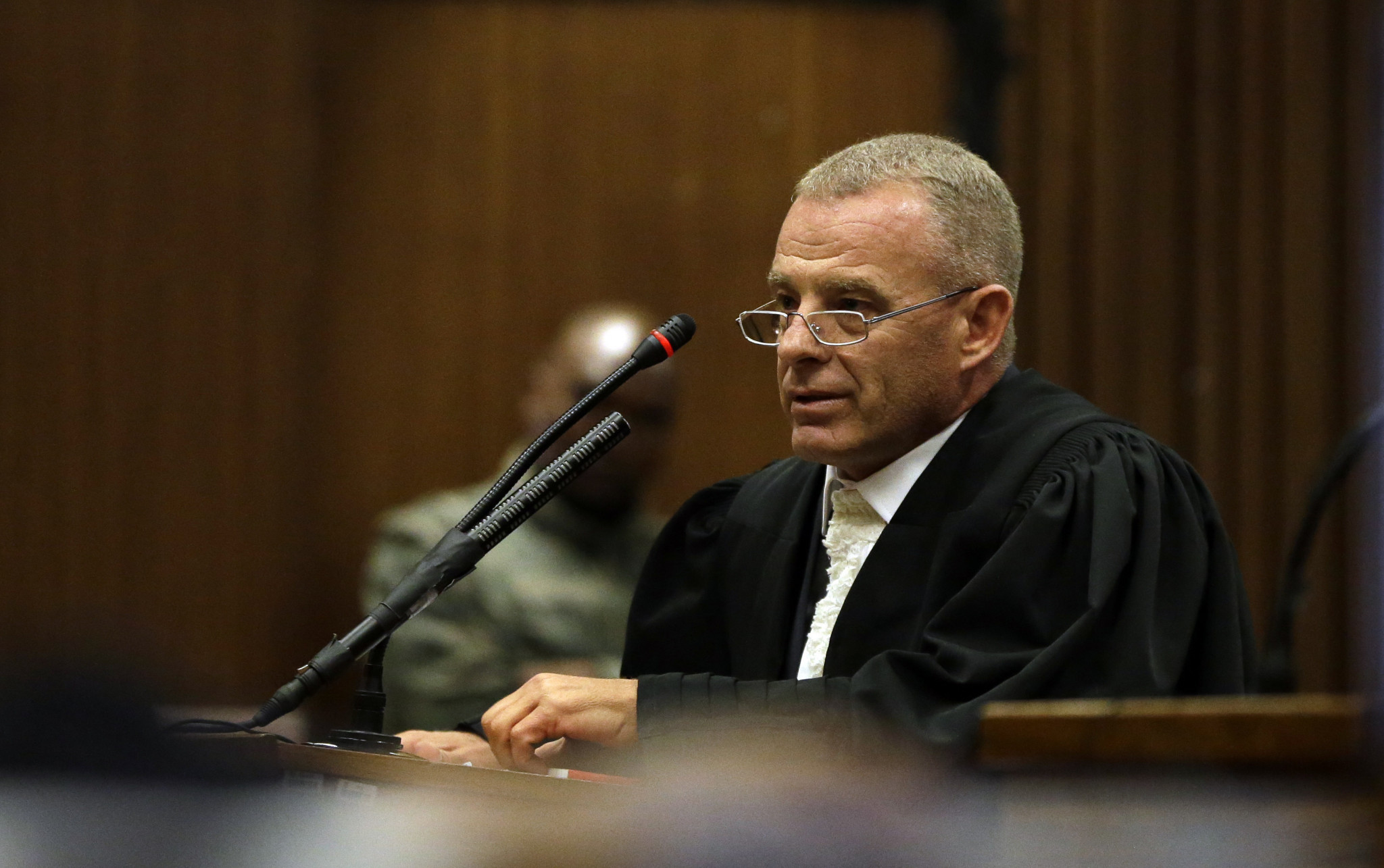 Prosecutor Gerrie Nel has described the six-year sentence as