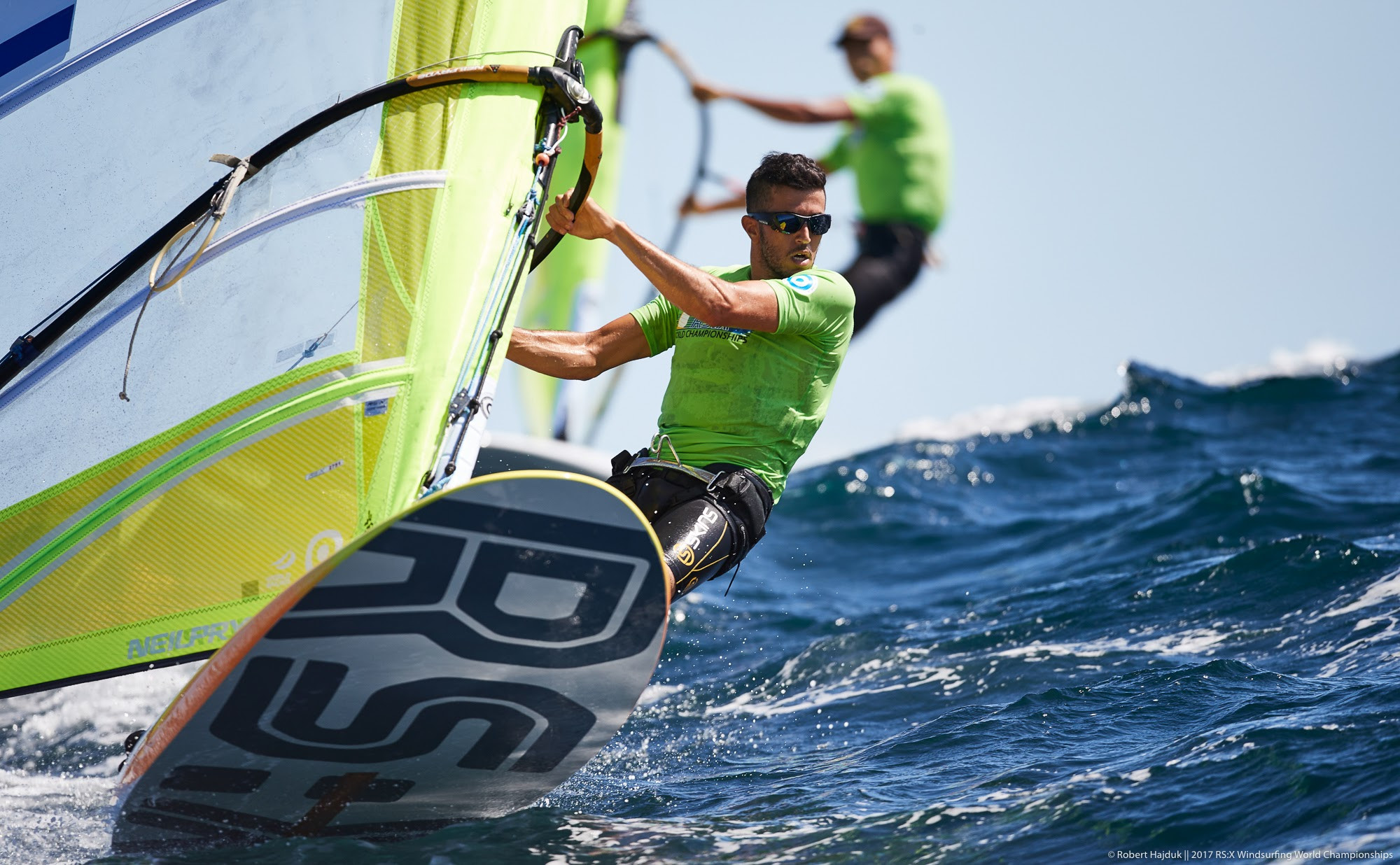 Frenchman keeps men's lead at RS:X Windsurfing World Championships