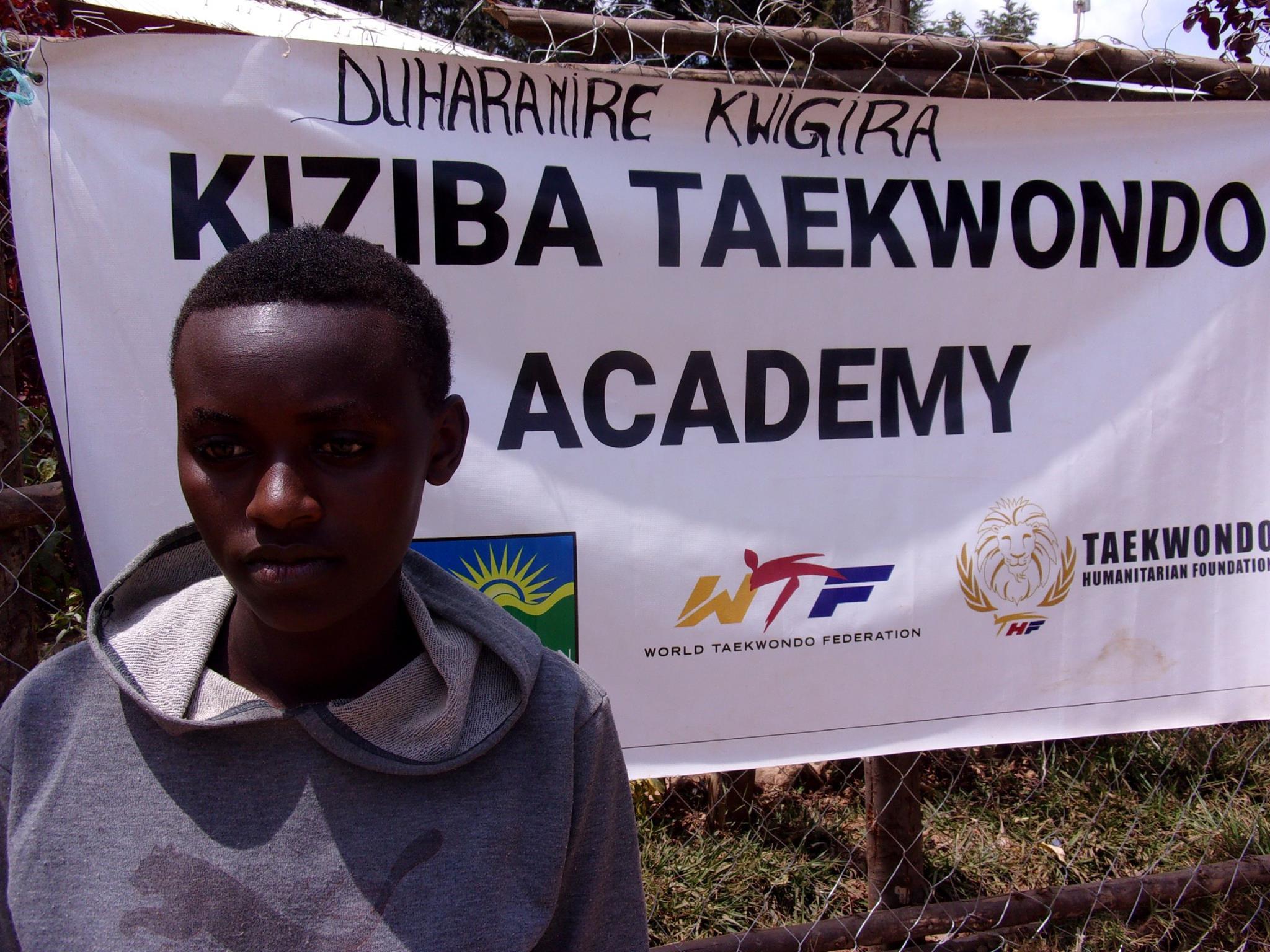 Teenager in Rwanda praises work of Taekwondo Humanitarian Foundation